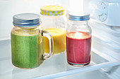Protein drinks keep for one day in the fridge