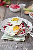 Strong radish breakfast