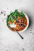 Moroccan Carrot and Chickpea Stew