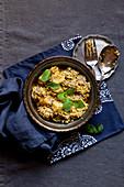 Biryani with mutton (India)