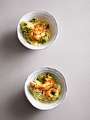 Prawn and lemon spaghetti (one pot pasta)