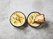 Oven cream 'quattro formaggi'