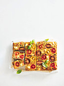 Quinoa and vegetable slice