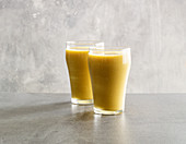 Pear smoothie with sea buckthorn
