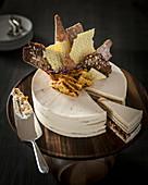 Russian honey layer cake