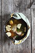 Duck confit in a pot
