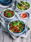 Lamb and Black Bean Stir-Fry