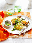 Creamed Corn and Green Chilli Relish on Toast