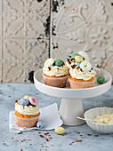 Vanille-Cupcakes für Ostern
