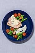 Turkey with a bean medley