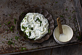 Cucumber and quark dip