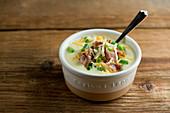 Potato cheddar soup