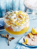 Champagne and Orange French Macaroon Trifle (Gluten-Free )