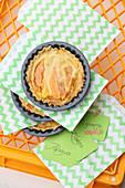 Mini papaya tartlets