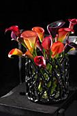 Kalla Strauß in Vase