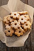 Italian canastrelli biscuits