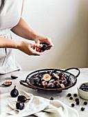 Figs on the plate
