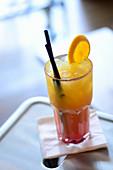 Aperol Sunrise cocktail