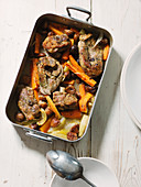 Goat ossobuco with carrots