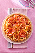 A festive apple tart