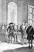 D'Alembert Received By Frederick II