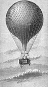Hydrogen Balloon, 19th Century