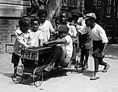 Children Playing, 1920s