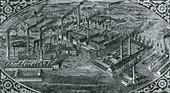 Krupp Steelworks, Essen, 1850