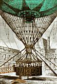 Henri Giffard's Captive Balloon, 1878