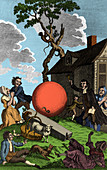Montgolfier Balloon, 1783
