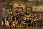 Morning Rush Hour, 1886