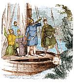 Landing of the Vikings in the Americas