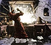 Berthold Schwarz, German Alchemist