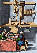 Bockler 's Fanning Device, 1661
