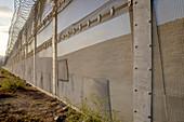 International Fence on U.S. Mexico Border