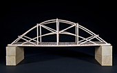 Balsa Wood Model Bridge
