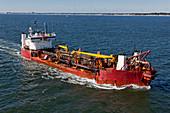 Marine Dredging Barge, USA