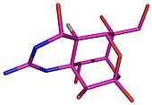 Tetrodotoxin molecule
