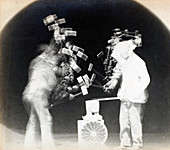 Chronophotograph, Blacksmith, 1894