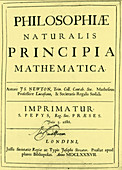 Newton's Principia, 1687