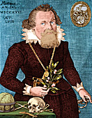 Gregor Horstius, German Physician and Anatomist