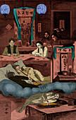 Chinatown Opium Den