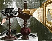 Reynaud's Praxinoscope, 1882