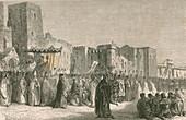 Encounter of Petrarch and Guy de Chauliac