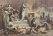 Nero and the Great Fire of Rome, 64 AD