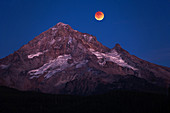 Total Lunar Eclipse and Mt. Hood