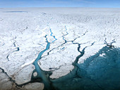 Rivers in the Greenland Ice Sheet