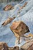 Fallen Rocks along Smoky Mountain Road