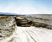 NNSS Area 5, Nuclear Waste Crates, 2014