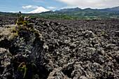 Lava and Villa Rica Volcano